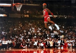 Michae Jordan Dunk