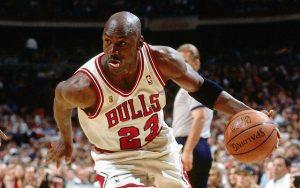 Michael Jordan Tongue